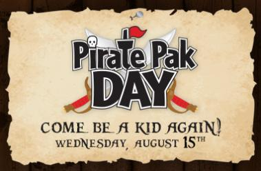 Pirate Pak Day at White Spot