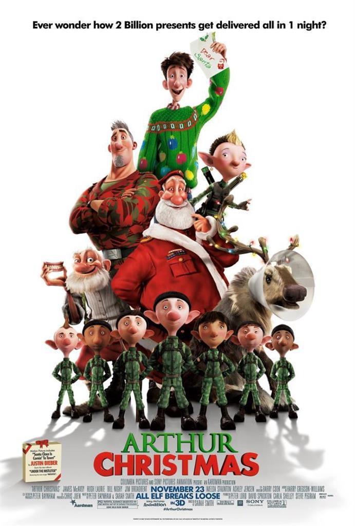 Arthur Christmas Movie